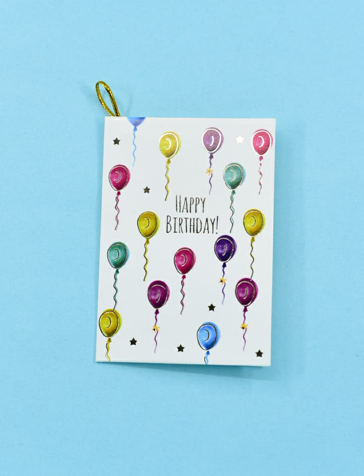 Happy Birthday! (Balloons) - Gift Card