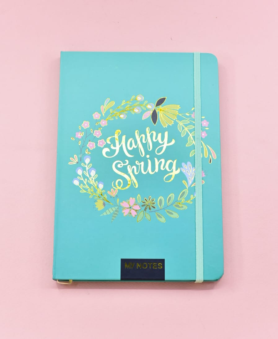 Happy Spring - Journal