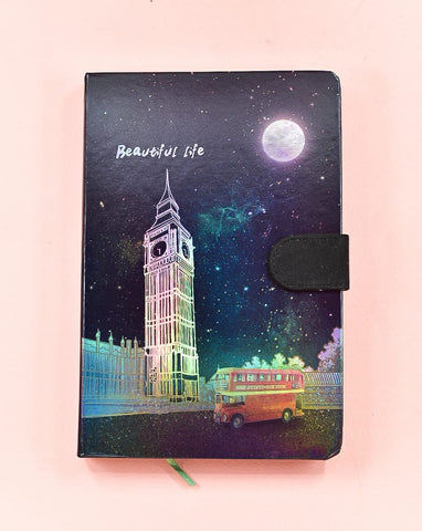 Big Ben HoloNeon Premium Hard Cover Journal