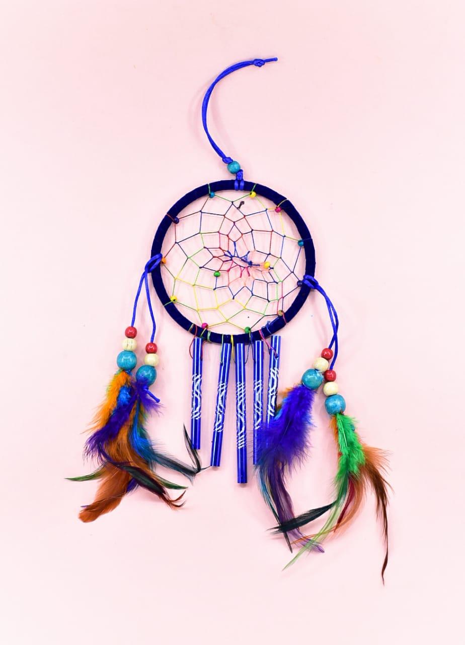 Blue Wind Chime - Dream Catcher