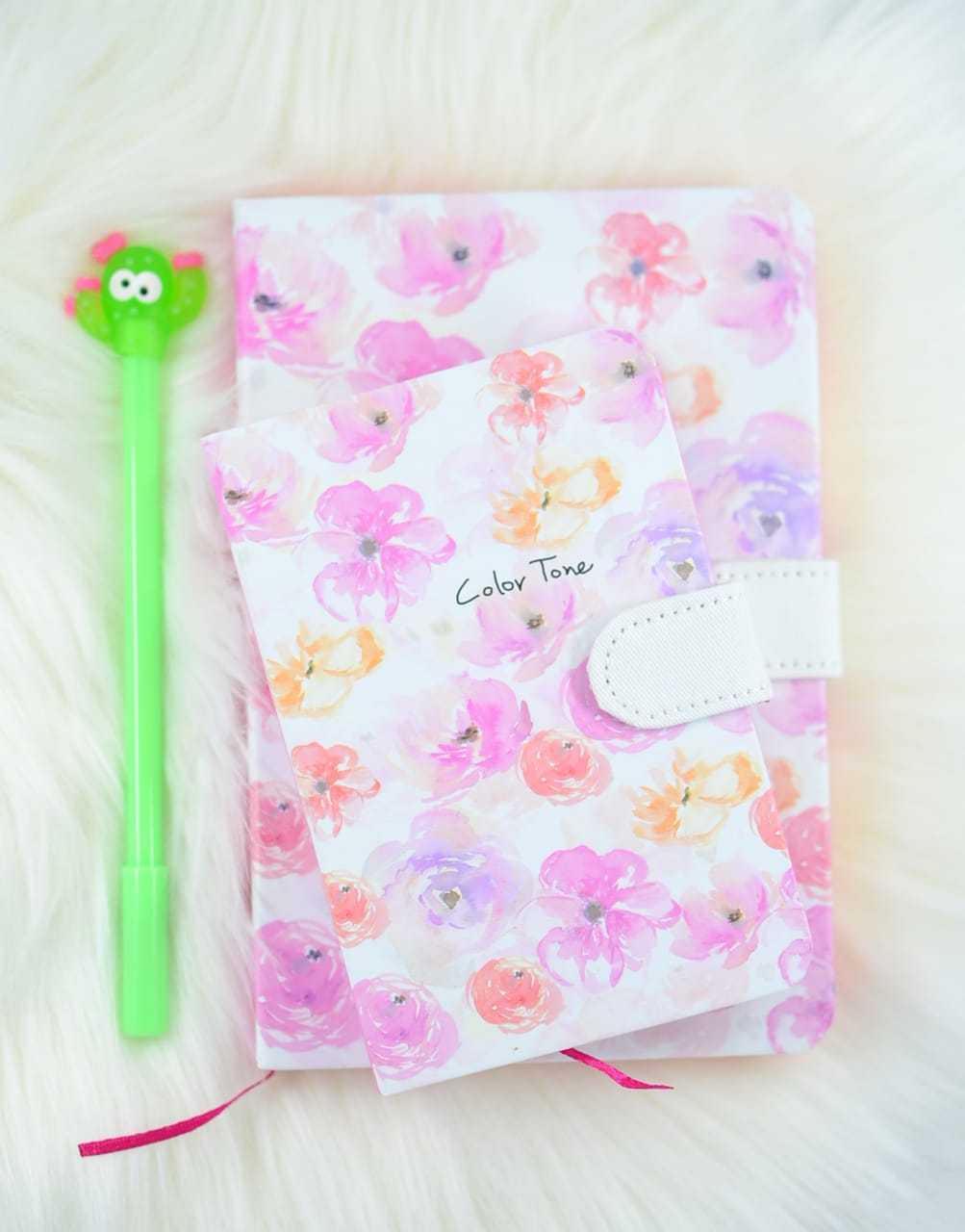 Pink Floral Dream Journal