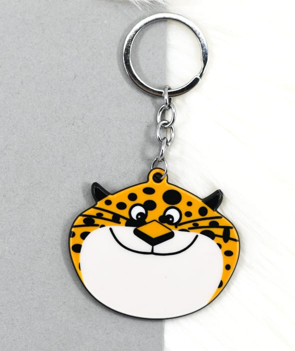 Cheetah Key Ring