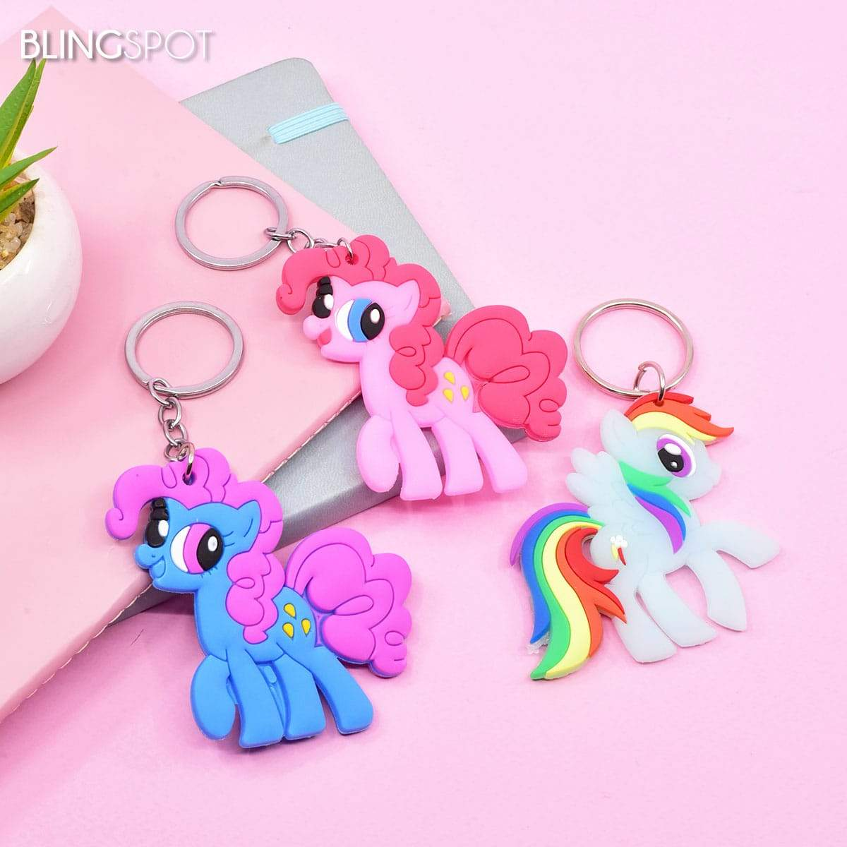 My Little Ponies - Key Ring