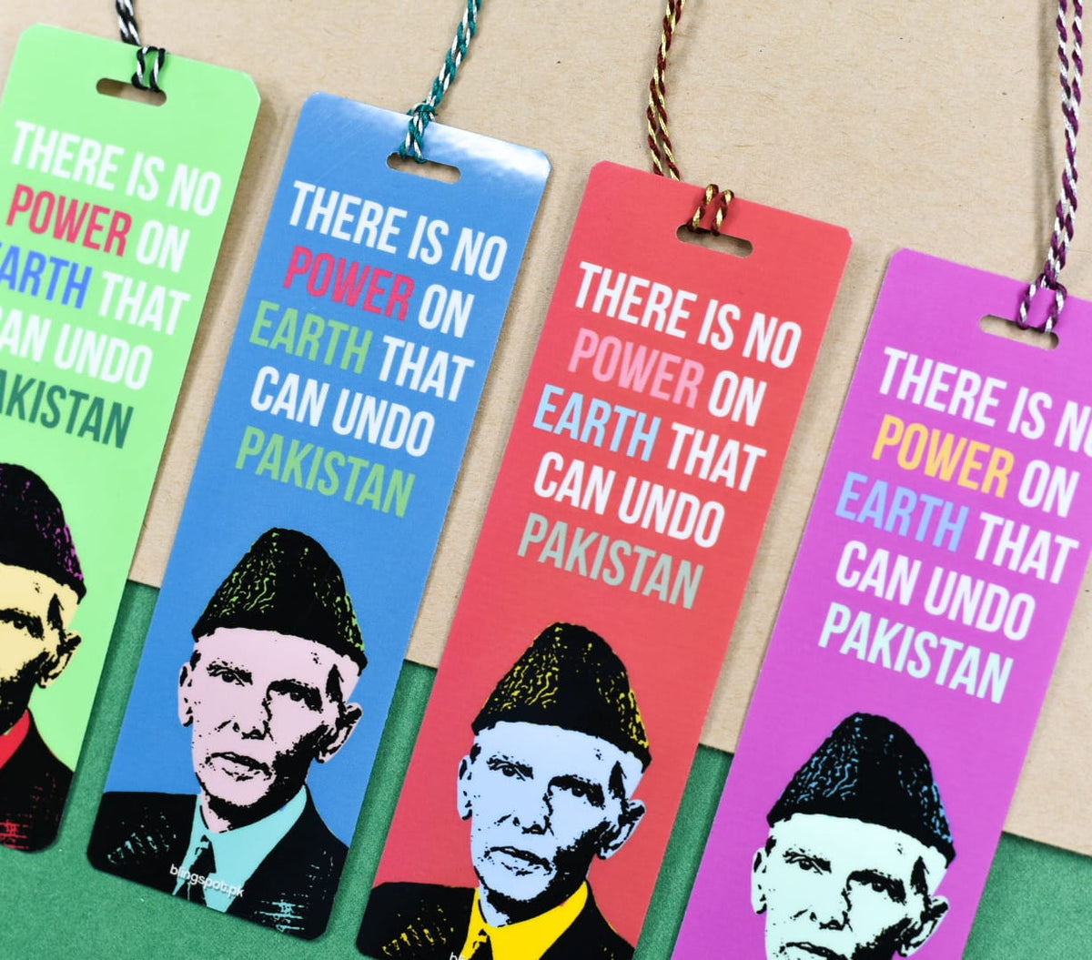 No Power on Earth can Undo PAKISTAN - Bookmark