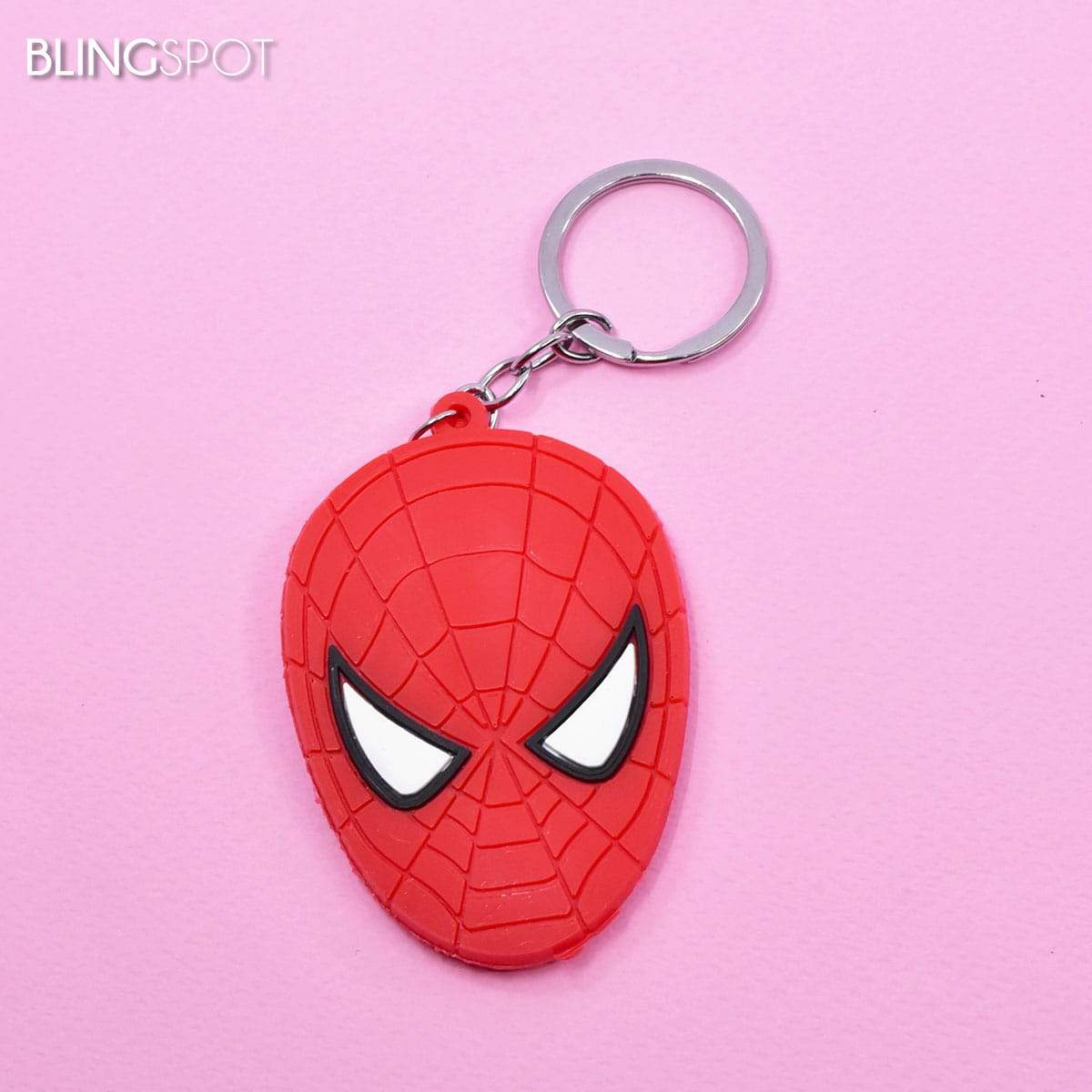 Spiderman Face - Key Ring