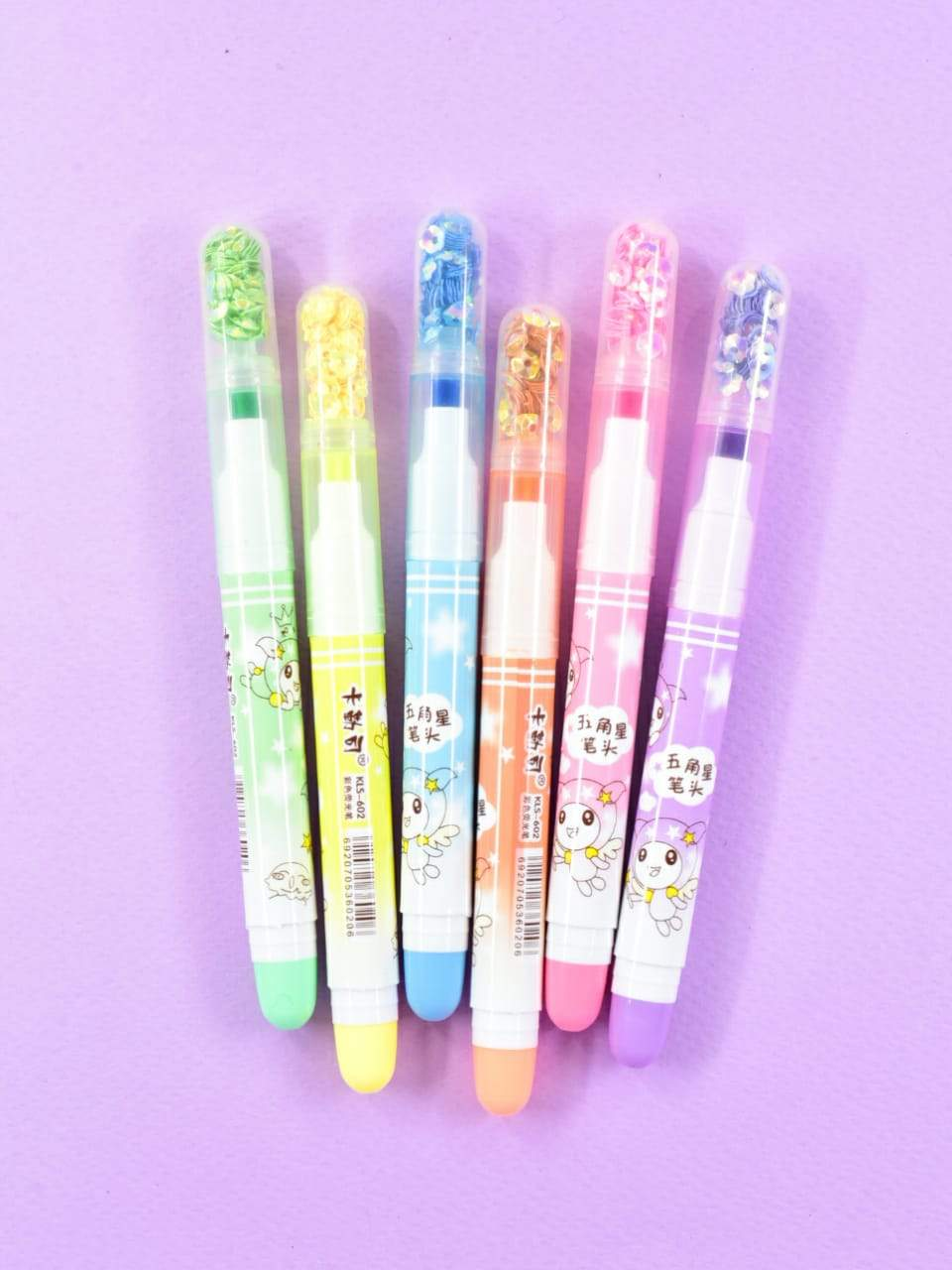 Star Shape Fluorescent  Highlighters - Style 2