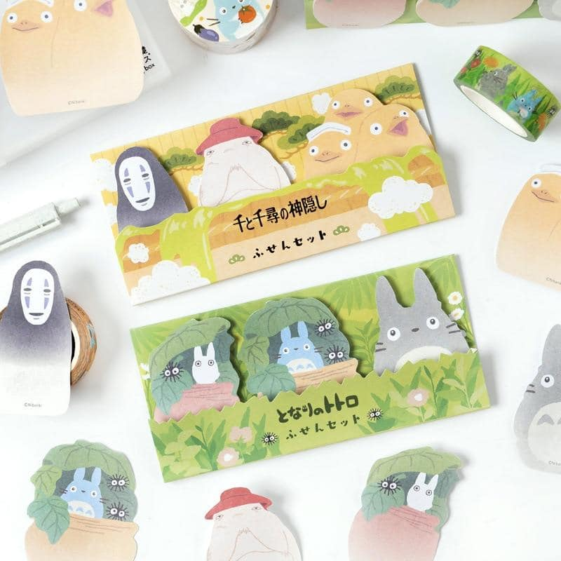 Totoro No Face Man Memo Pad  Sticky Notes