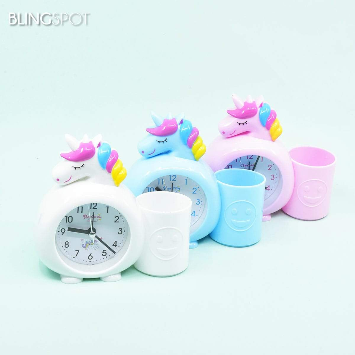 Unicorn Desk Clock