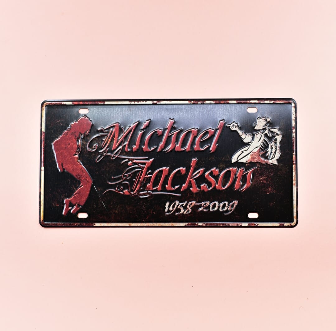 Micheal Jackson 1958 - Wall Hanging