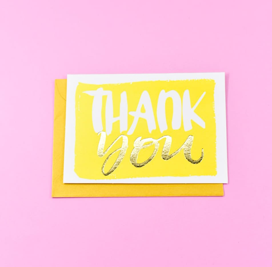 Thank You ! Card