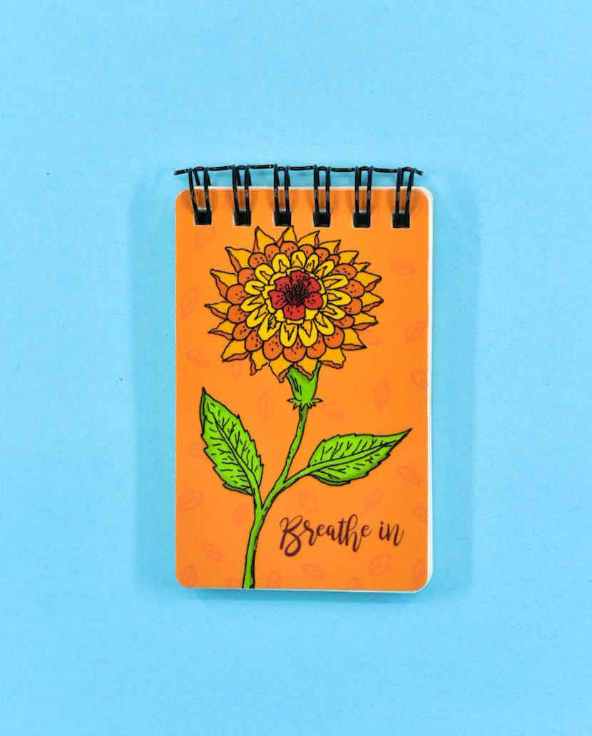 Breathe Pocket Notepad