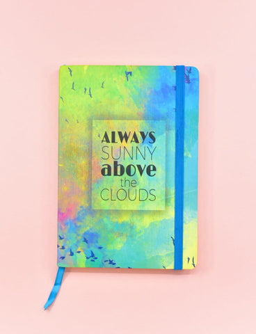 Above The Clouds Hard Cover Journal