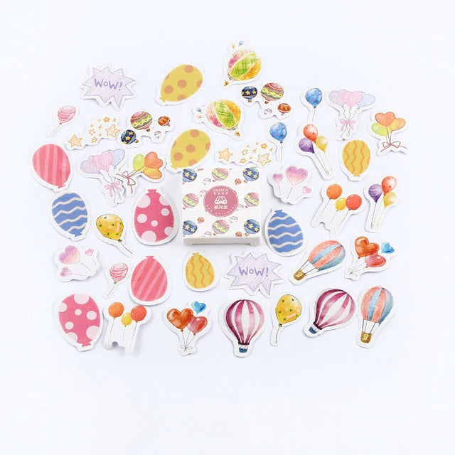 Hot Air Baloon Stickers