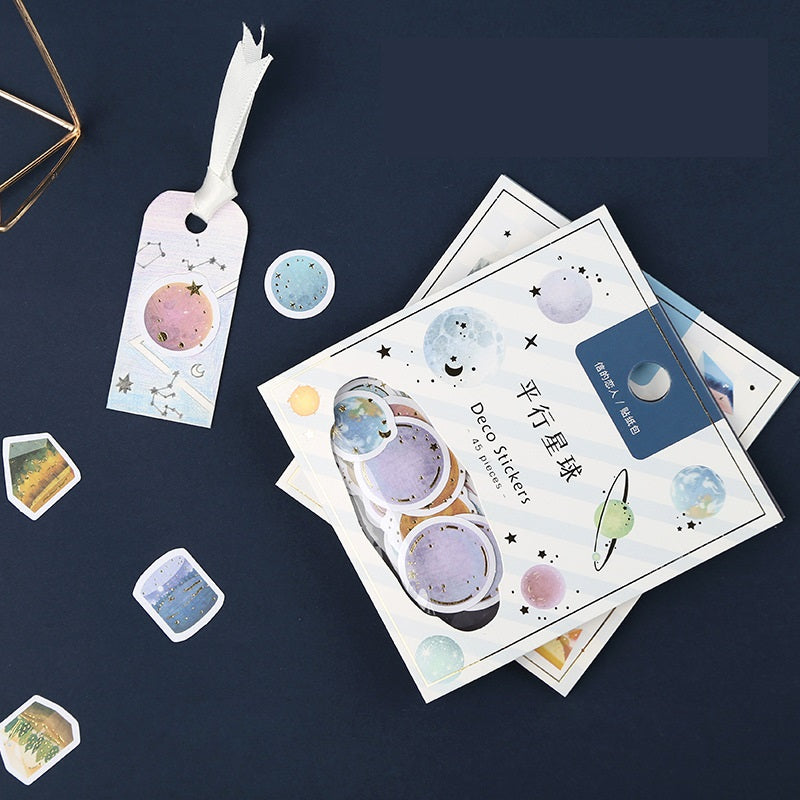Journaling Stickers Collection