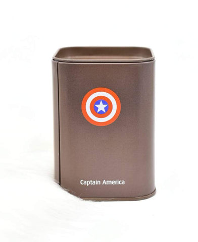 Captain America Metal Money Box