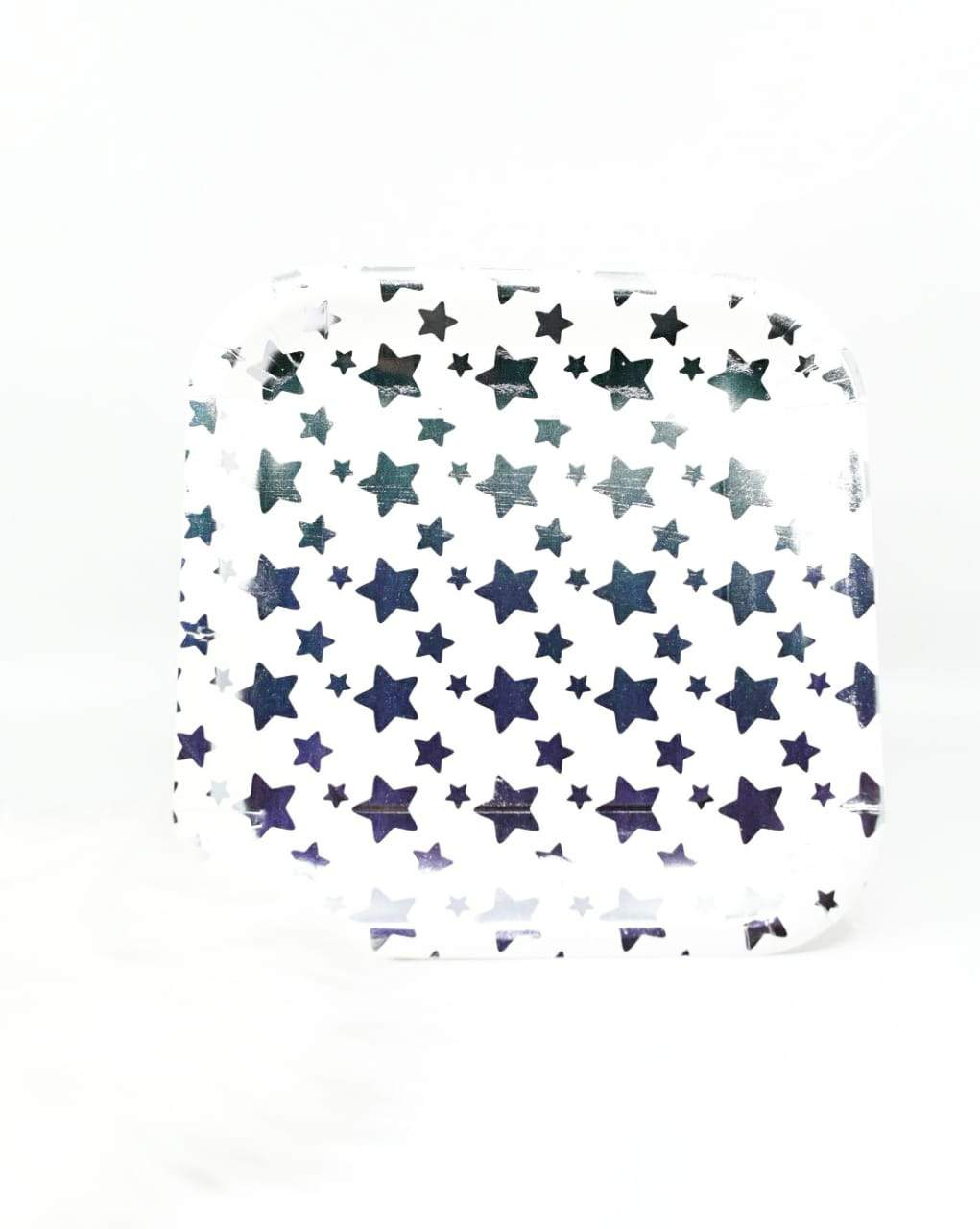 Dream Star Silver Foil Plates Set Of 10