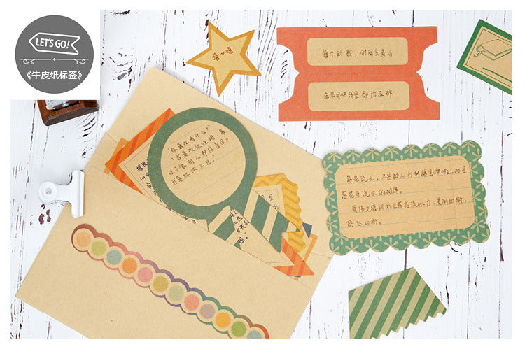 Collection of Designer Crafted Note Papers