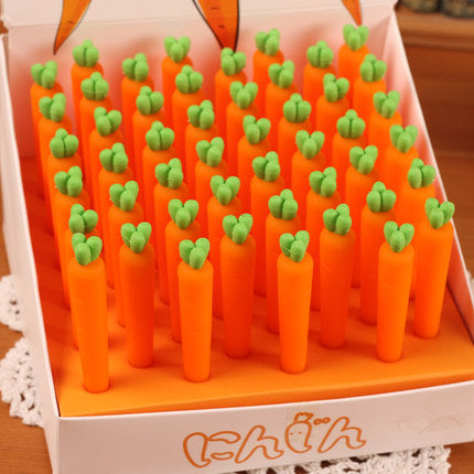 Carrot Erasers