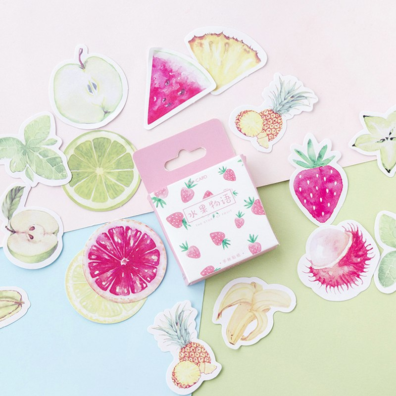 Healthy Fruit Stickers