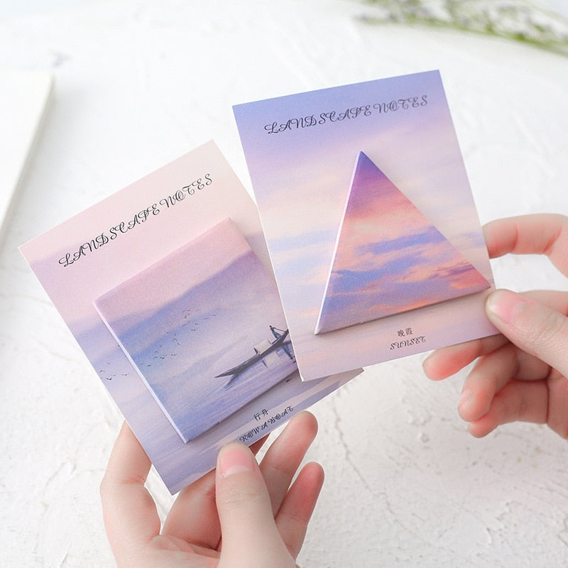 Travelers Dream Sticky Notes
