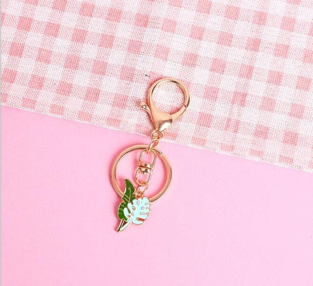 Cactus Electroplated Key Chains