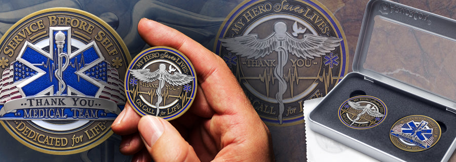 High Quality Challenge Coin Medical Gifts | Armor Coin