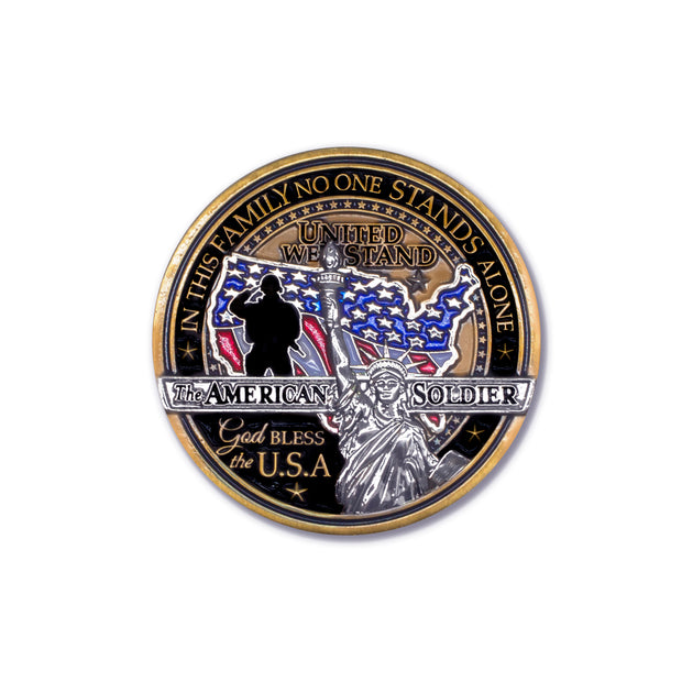 American Soldier Challenge Coin