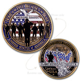 USA Soldier Challenge Coin