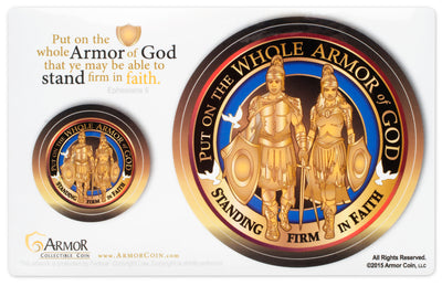 Armor of God Sticker Decal