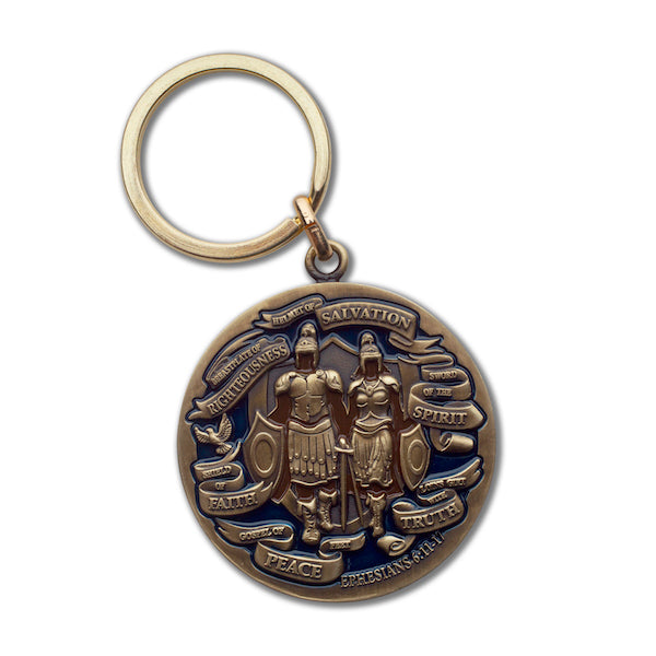 Whole Armor of God Keychain