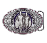 Armor of God Silver Buckle