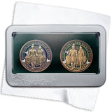 Armor of God and Spanish Armor of God Coin set