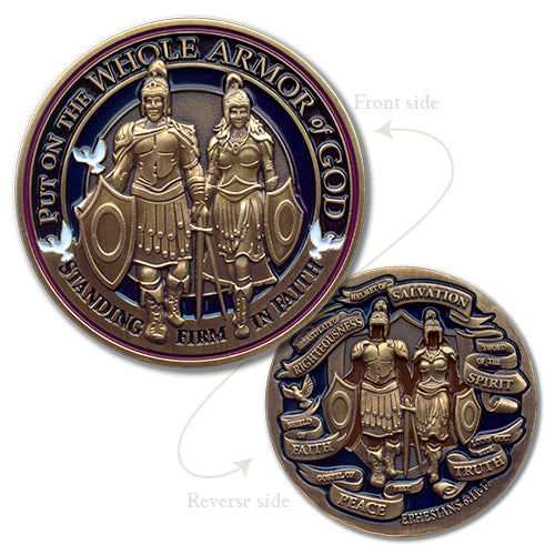 Armor of God Medallion Award