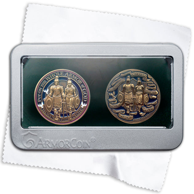 Armor of God Double Coin set