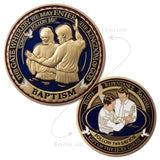 LDS Baptism Coin
