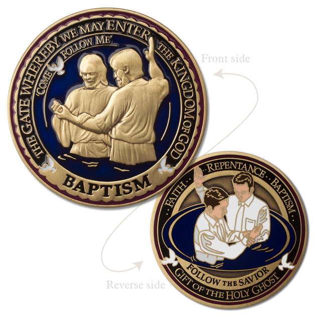 Baptism Medallion