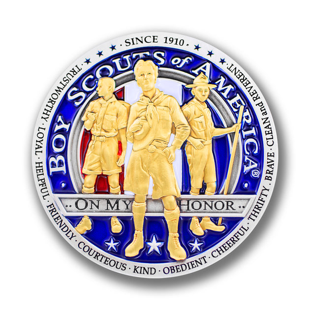 Boy Scouts of America Challenge Coin