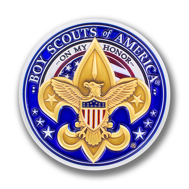 Boy Scouts of America Logo Challenge Coin