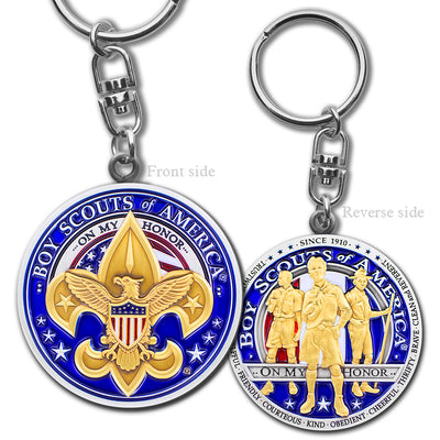 Boy Scouts Key Chain
