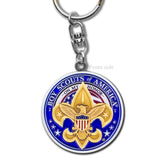 Boy Scouts Emblem Key Chain