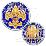 Boy Scouts of America Logo Coin