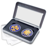 Boy Scouts of America and BSA Challenge Coin Box Set