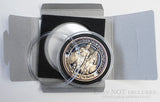 Gift Box with Clear Coin Capsule - coin NOT included