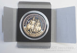 Clear Acrylic Coin Capsule with gift box