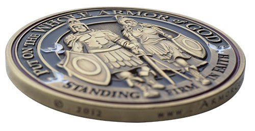 Armor of God Gift Coin