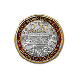 World War II D-DAY NORMANDY Landing Challenge Coin