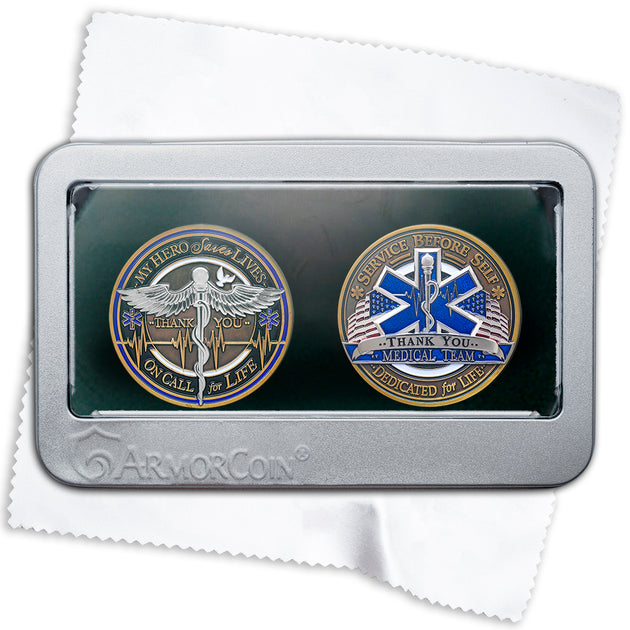 Medical Star of Life Emblem Gift Set