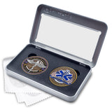 Star of Life and Caduceus Coin Gift Box Set