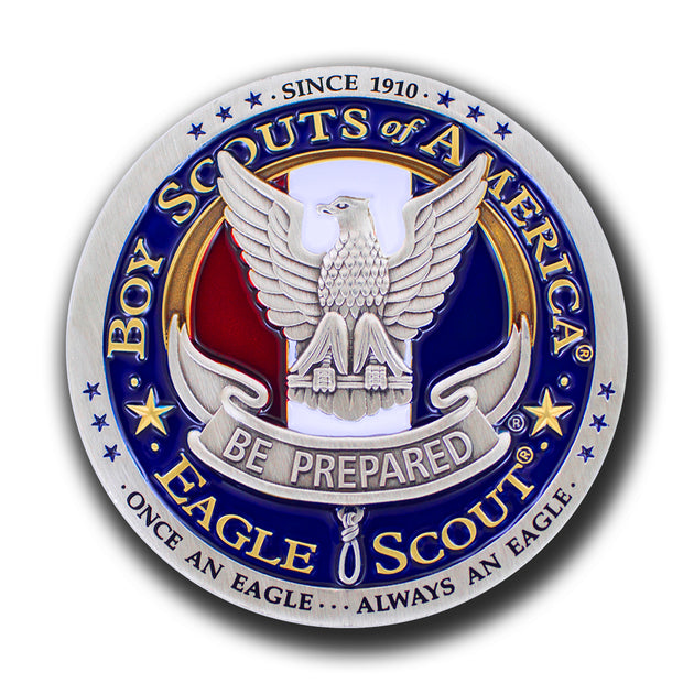 Eagle Scout Logo Challenge Coin