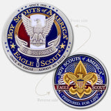 Eagle Scout Logo Coin